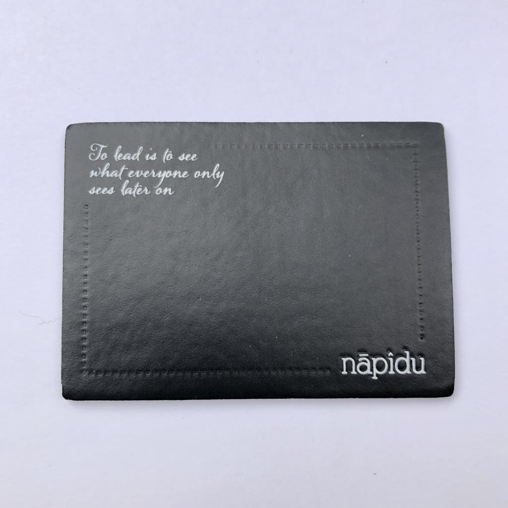 Imitation Leather Label Samples